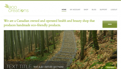 eco-creations website 2012