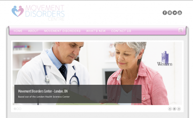 Movement Disorders Centre Website - 2012