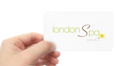 the London Spa Business Card
